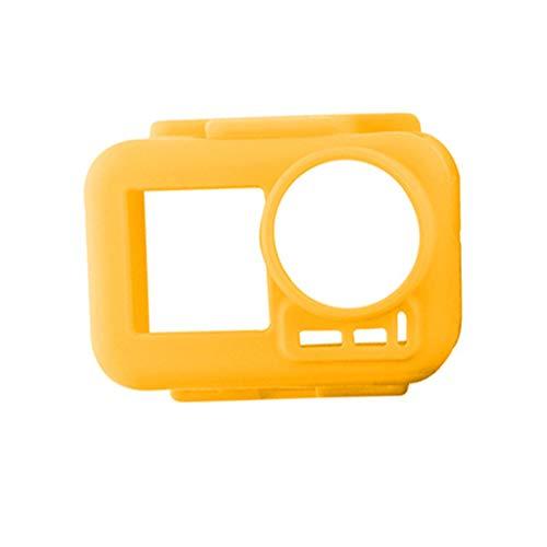 Altsommer Silikon Schutzgehäuse Hülle für DJI OSMO Action 4K, Kamera Zubehör Kratzfest Shell Cover Case mit Multifunktions Lanyard Actionkameras Expansion Accessories