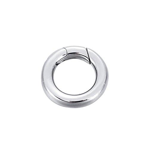 e Halskette Enhancer Shortener Ring Federverschluss Anschluss 18mm ()