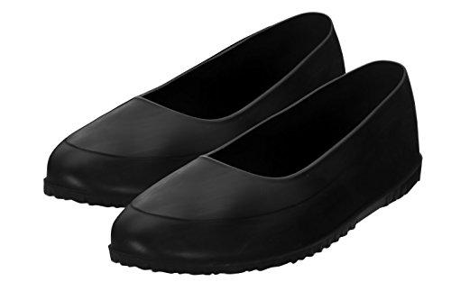 Azzezo Galoschen mit Spikes schützen Ihre Schuhe vor Regen, Schnee und Matsch