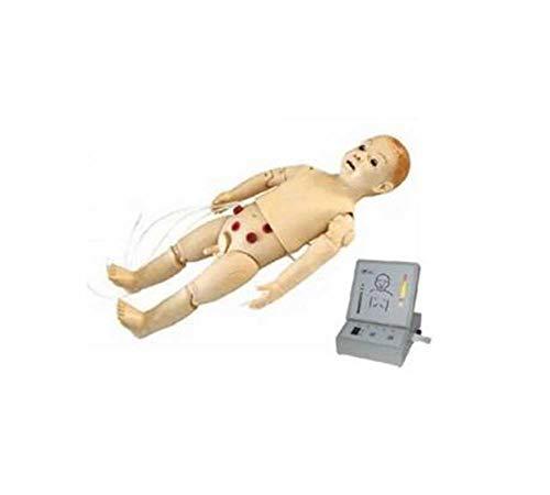 MKULOUS Säugling Ausbildung CPR Prompt Säuglingspuppe,Säugling Krankenpflegeausbildung Modell - Medizinische Ausbildung Ausbildungshilfe