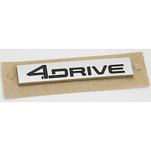 Original Seat 4Drive Schriftzug hinten Heckklappe Emblem Logo schwarz chrom