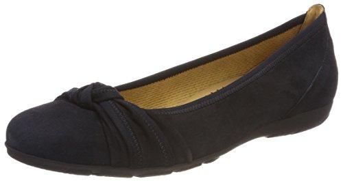Gabor Shoes Damen Casual Geschlossene Ballerinas, Blau (Pazifik), 42 EU