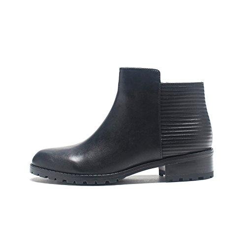 Hiver fashion shoes/Bottes d'hiver femme cintrées/Chaussure en cuir A
