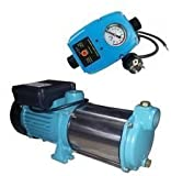 INOX(Edelstahl) Profi Gartenpumpe Kreiselpumpe 2200 Watt 230V / 50Hz Fördermenge: 170 l/min 10200...