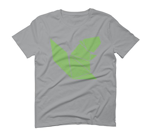 Squirrel Origami Men's Graphic T-Shirt - Design By Humans Opal