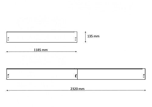 Rasenkante, Beeteinfassung Und Wegbegrenzung Metall Feuerverzinkt 120x13,5cm 6er Set (6,86m)