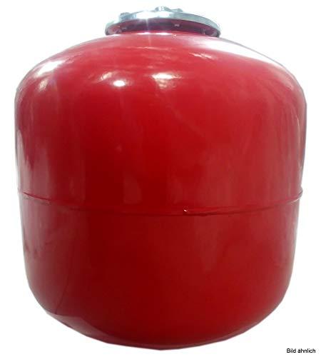 Michl HADG-L35 Heizungs-Ausdehnungsgefäß 35l, Rot 440 mm