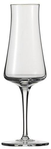 Schott Zwiesel FINE 6-teiliges EAU De Vie Glasset Grappaglas, Glas, transparent, 23.2 x 16.2 x 20.3 cm, 6-Einheiten