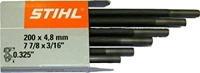 Stihl Chainsaw 4.8mm Files. Box of 6. 0.325 Chains. 5605 772 4806