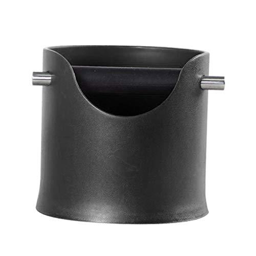 F Fityle Abklopfbehälter, Abschlagbehälter Kaffee Knock Box - Kaffee Zubehör - Schwarz