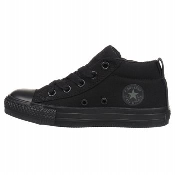 Converse Boys' Chuck Taylor All Star Street Slip (Tod/Yth) - Black Monochrome - 1.5 Youth Black Monochrome