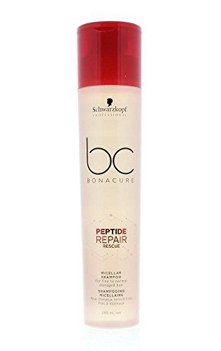 2er Peptide Repair Rescue Shampoo Bonacure Schwarzkopf Professional Micellar für feines bis normales Haar je 250 ml = 500 ml -