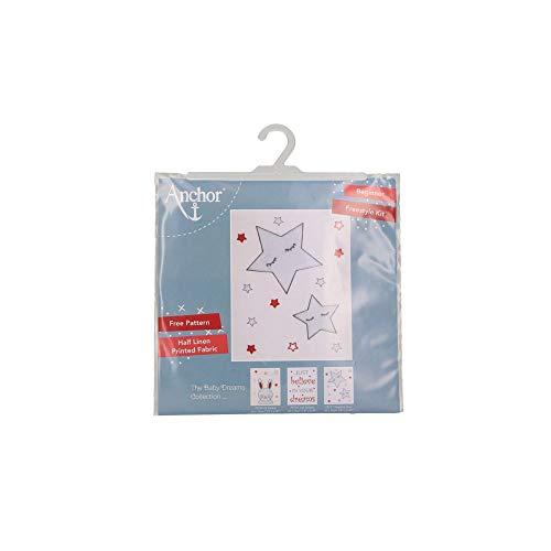 Anchor Kits and Canvas Sleeping Stars 20x12cm unbekannt 19cm x 19cm x 1cm -