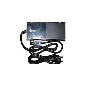 Microsoft AC Adapter Ladegerät Netzteil Kabel für Microsoft Xbox One Console – Schwarz