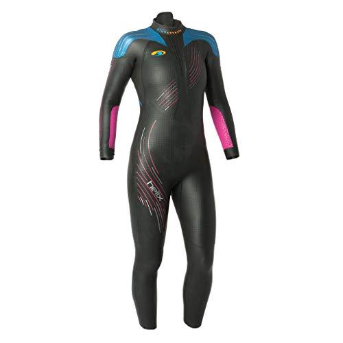 BlueSeventy 2019 Helix Triathlon Neoprenanzug für Damen - zum Schwimmen im Freien, Ironman & USAT zugelassen, Damen, schwarz, WXS