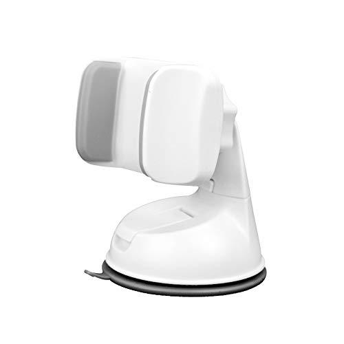 Radieschensterne Universal Antirutsch-Handyhalterung Auto Halterung verstellbar Lüftungsgitter Handyhalter, One Size, Weiß/Grau