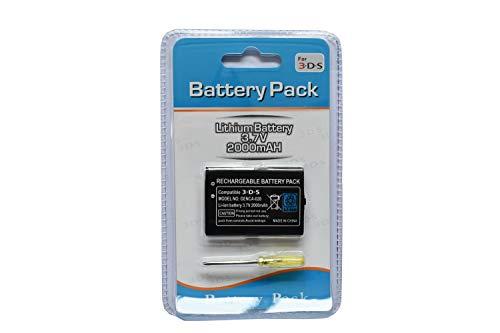 TGC Ersatzakku für Nintendo DS, DS Lite, DSi, DSi XL, 2DS, N2DS, 3DS, 3DS XL, N3DS Konsolen N3DS - Dsi Xl Lite