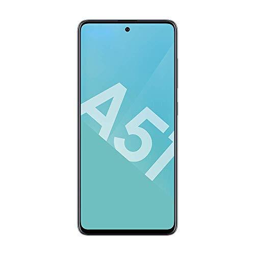 Samsung Galaxy A51 - Smartphone Portable débloqué 4G (Ecran: 6,5 pouces - 128 Go - Double Nano-SIM - Android) - Noir - Version Française - Avec BON d'ACHAT AMAZON