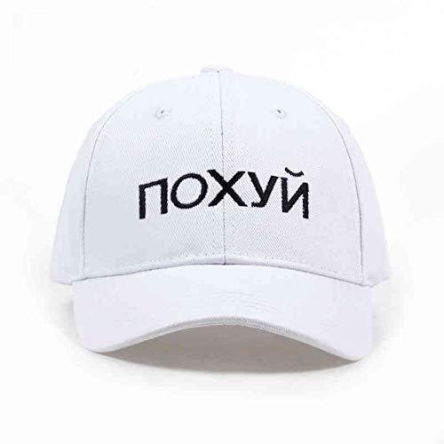 CC&Kaes Baseballmütze Russland Brief Stickerei Baseball-Cap Unisex Mode Einfarbig Hysterese Hüte Outdoor Sport Hüte Großhandel