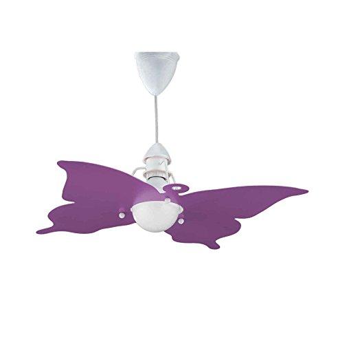 Sospensione farfalla glicine per camerette stanzette bambini