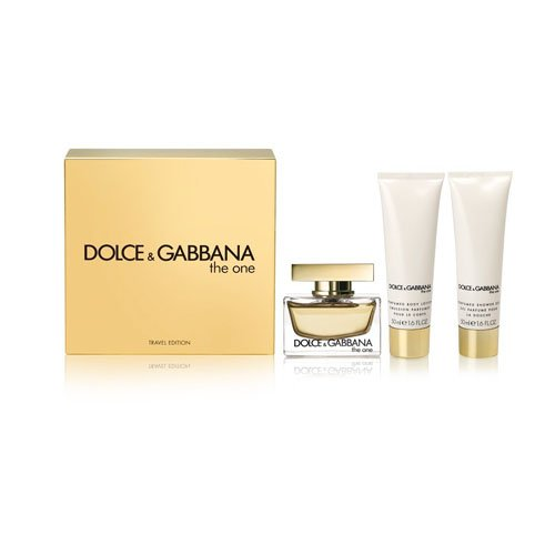 Dolce & Gabbana The One Eau de Parfum Spray 75 ml/Body Lotion 50 ml/Dusche Gel 50 ml (Gucci Body Cream)