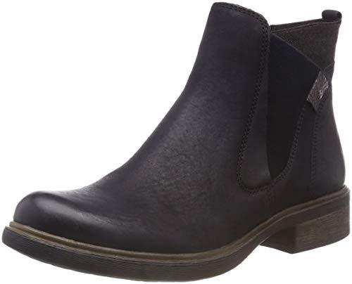 Tamaris Damen 25317-21 Chelsea Boots, Blau (Navy/Anthracite 828), 37 EU