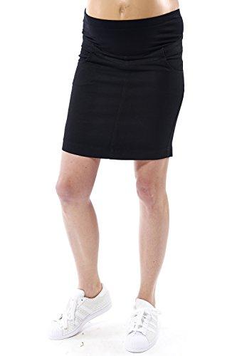 motherway - Jupe spécial grossesse - Crayon - Femme Noir