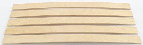 Ersatz Federholzleisten für Lattenroste, Sofas und Fouton (Stärke 8mm x Breite 50mm x Länge 800mm)