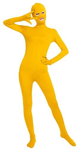 Gelb Für Erwachsene Kostüm M&m - Icegrey Ganzkörperanzug Anzug Zentai Suit Kostüm Bodysuit Erwachsene Gelb M