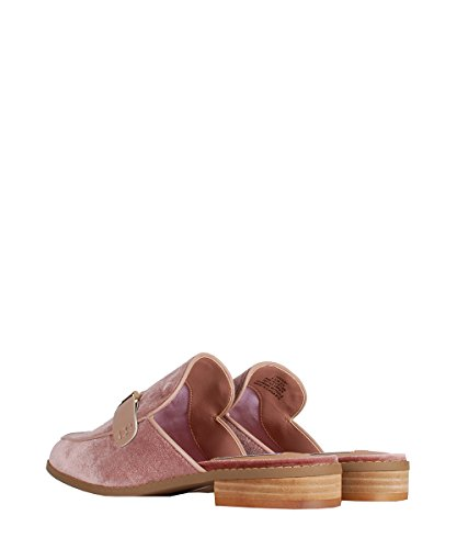 Steve Madden Ladder1 Pink Velvet Sandals - Ciabatte Rosa In Velluto Da Donna Pink