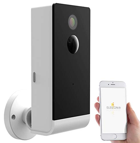 VisorTech Outdoor Cam: Full-HD-IP-Überwachungskamera mit WLAN & App, Akku-Betrieb, IP54 (Akku Kamera)
