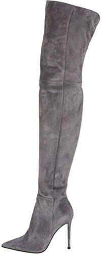 elehot-donna-eboyer-tacco-a-spillo-105cm-leather-stivali-grigio-365