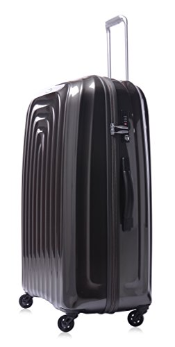 lojel-wave-polycarbonate-xl-upright-spinner-luggage-grey-one-size