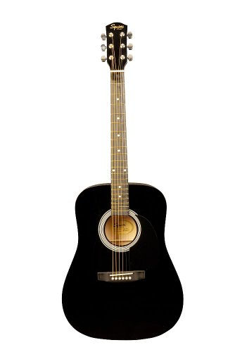 squier-sa-105-black-acoustic-guitar