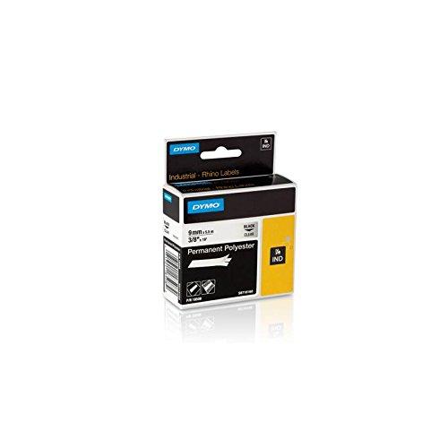 Dymo strapazierfähiges Polyesterband 1805441 für Rhino Etikettendrucker, 6 mm x 5,5 m, metallisiert (Dymo Rhino-etikettendrucker)