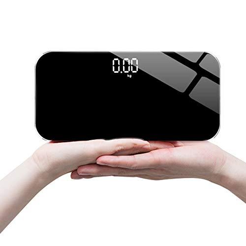 Gesundheit Elektronische Waage, Mini-Waage LED versteckten Bildschirm, Auto EIN- / Ausschalten kann als Spiegel bequemer zu tragen Sein