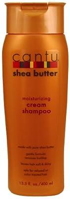 Cantu Shea Butter Shampoo Moisturizing Cream 13.5 Ounce (399ml) (2 Pack) from Cantu