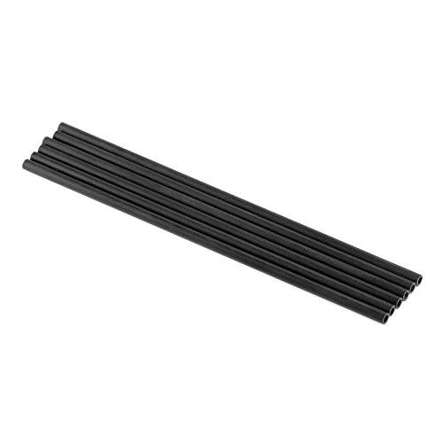 6 Pcs Carbon Rod 20cm for 3D Printer Carbon Fiber 3D Printer Accessories Rods - Rohr Carbon 3 Faser