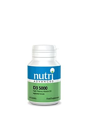 Nutri Advanced - D3 5000 (High potency Vitamin D3 Tablet) - 60tabs by Nutri