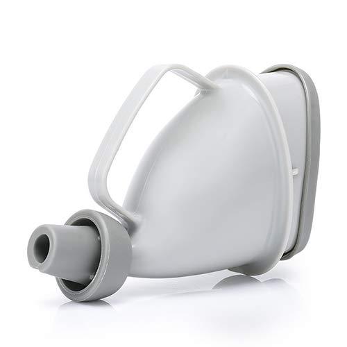 Tragbares Urinal, wiederverwendbar für Männer und Frauen, Urinentladungsgerät, Reisen/Auto, tragbares Urinal