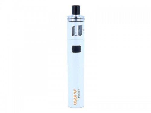 Aspire PockeX E-Zigaretten Set - 1500 mAh Akkukapazität - 2 ml Tankvolumen - Farbe: weiss