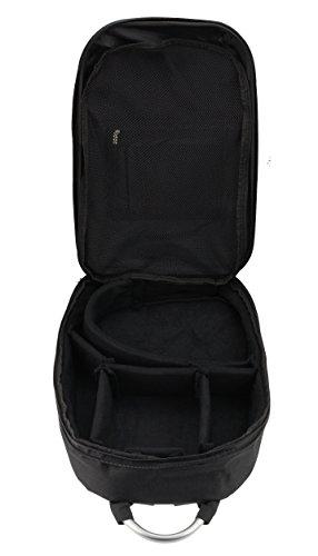 Navitech Tragbarer mobiler DJ Controller Hart Rucksack Tasche Schutz hülle für den Hercules DJ Control Instinct S