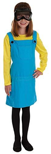 on mit Brille Buch Tag Woche Verkleidung Kleid Kostüm Outfit 4-12 Jahre - Blau, 10-12 Years, Blau ()