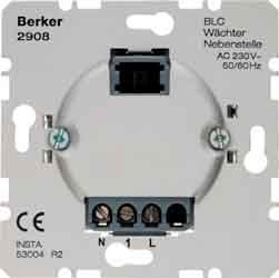 Berker Wächter 2908 HAUSELEKTRONIK Bewegungsmelder Basiselement 4011334212638 von Berker auf Lampenhans.de