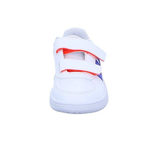 adidas Vs Hoops Cmf C, Scarpe da Ginnastica Unisex – Bambini Bianco ( Ftwbla/Azul/Negbas)
