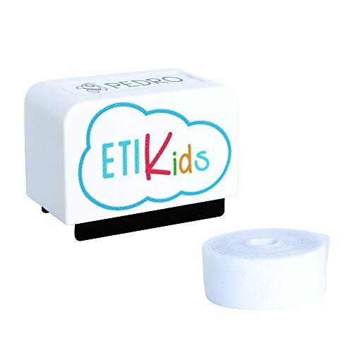 Sello Marcador Personalizado Para Ropa y Libros Niños. Más de 100 Personalizaciones Disponibles. Blanco