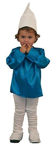 Imagen de disfraz de pitufo, duende o enanito  talla  5 6 años