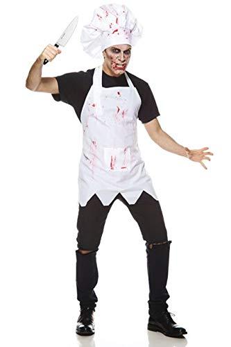 Unbekannt AEC-aq00829/L-Kostüm-Chef blutigen, Größe L