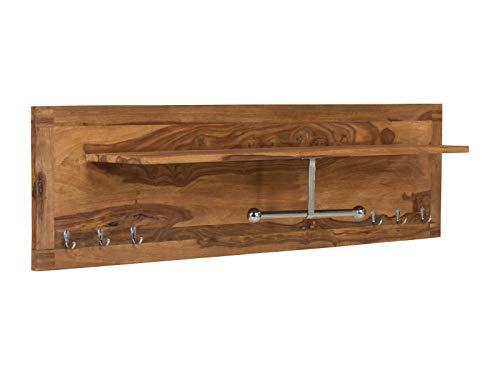 massivum Stark Garderobe, Holz - Palisander, BxHxT 150x40x25