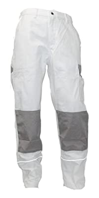 TMG Unisex - Erwachsene Bundhose STYLE, weiß/grau